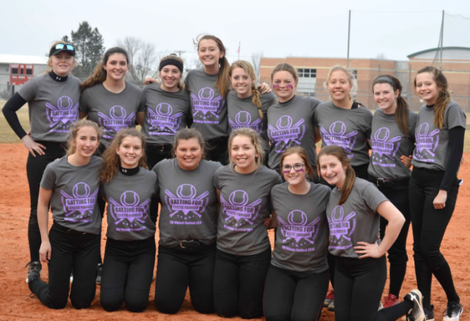 varsity softball girls
