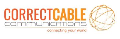 correct cable logo
